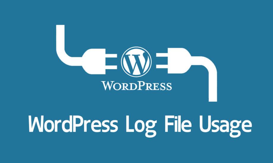 wordpress log